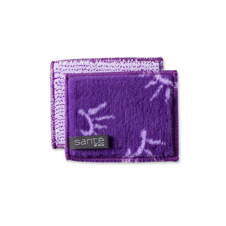 Body Mini - Lilac: travel essential mini body cleanser. Fibre skin care product for natural cleansing using just water. Travel-sized for chemical-free cleansing on the go.