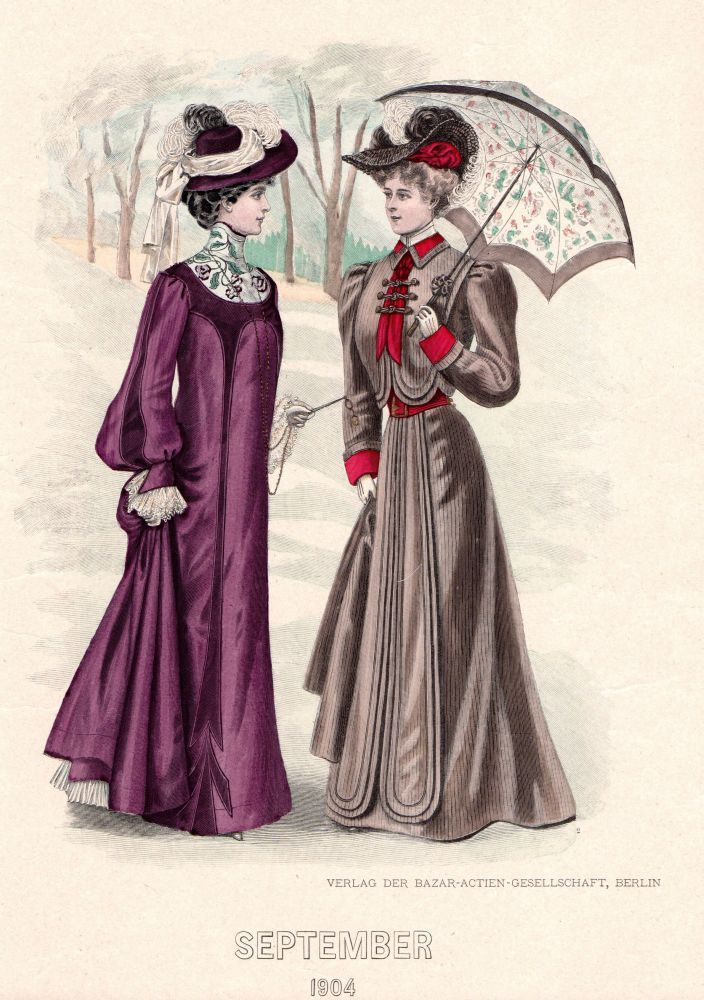 "fashion in the edwardian era The popularity of the hourglass shaped dress faded by the end of the victorian age and the ""s"" curve became increasingly popular during the edwardian era this new fashion style embraced a ""healthier"" corset that was far less constricting than the previous styles during the victorian age, and provided better support for the spine."