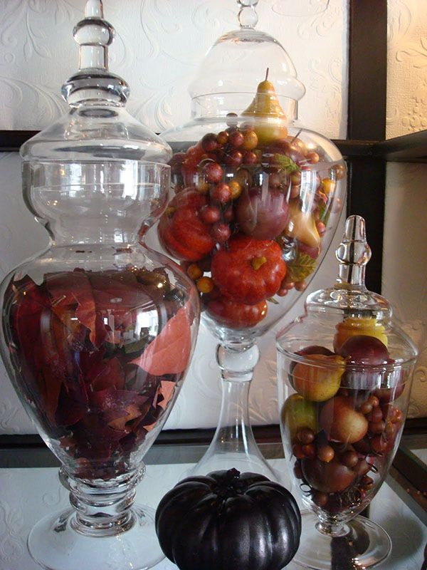 Best glass apothecary jars images on pinterest