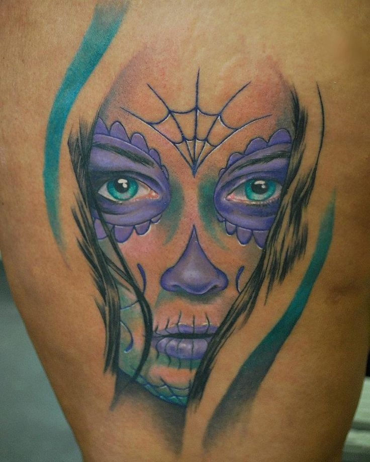 60 day of the dead tattoos you will want to get asap - 736×920