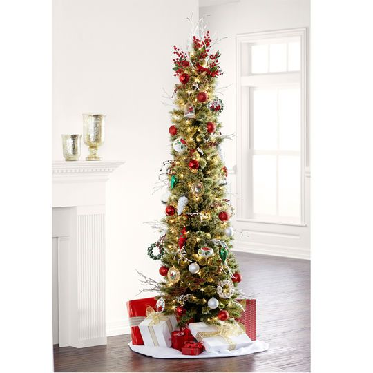 Best 25 Pencil Christmas Tree Ideas On Pinterest Pine Christmas  - 7 Ft Artificial Christmas Trees