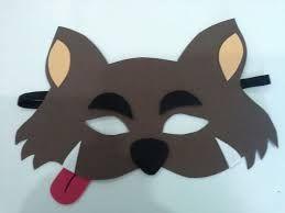 Resultado de imagen para mascara de lobo feroz