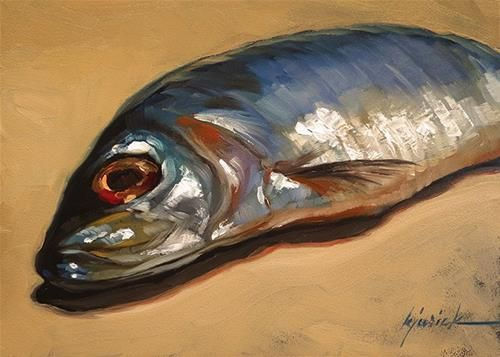 Sammy - Original Fine Art for Sale - © Karin Jurick