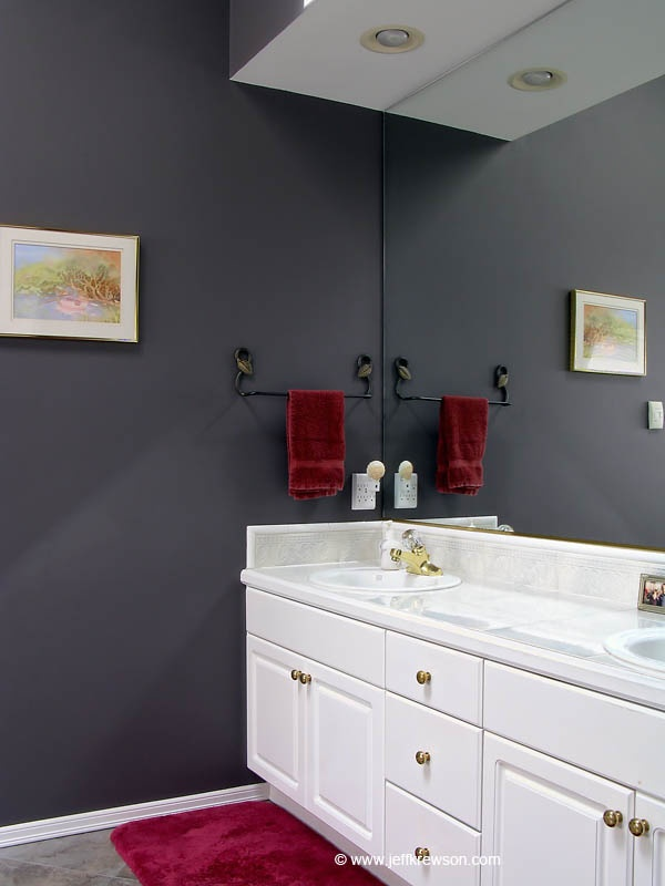 1000 images about purple bathroom on pinterest for Grey and purple bathroom ideas