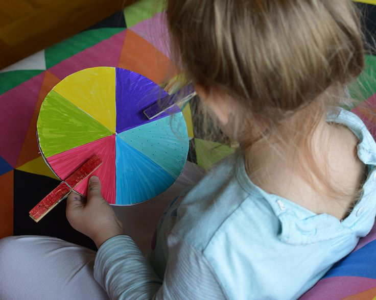colour cirle for young children D.I.Y.