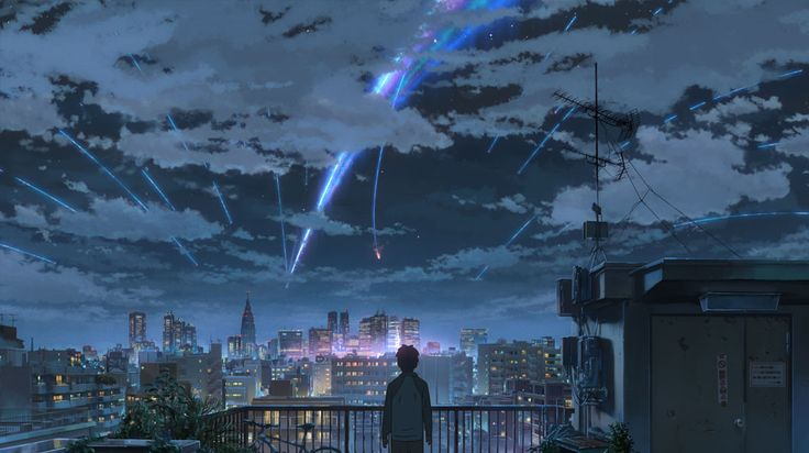 新海 誠 Makoto Shinkai: 君の名は。 your name. http://www.shinkaiworks.com/slider/img/img_slide01.jpg