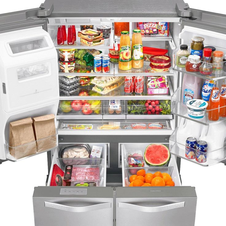 REFRIGERADOR WHIRLPOOL FRENCH DOOR 26 PIES ACERO INOXIDABLE | SEARS.COM.MX - Me entiende!