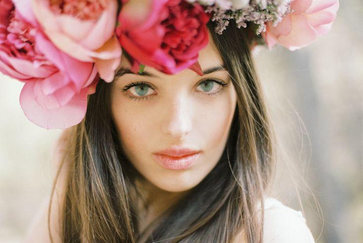 #vintage #fashion #polaroid #spring #summer #cristinavittoria #nikon Cristina Vittoria, Flower headband, wedding, vintage