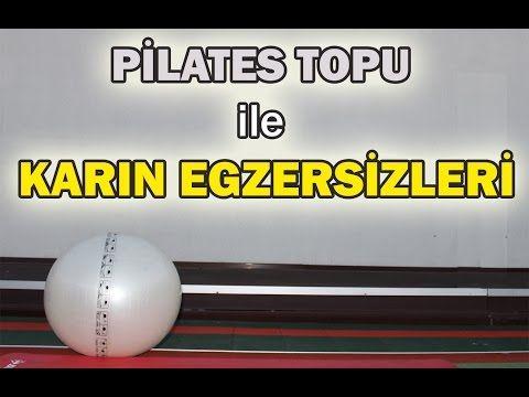 Pilates Topu ile Karın Egzersizleri - YouTube