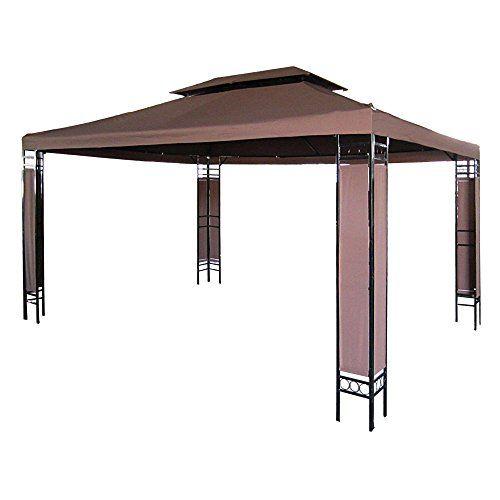 Miadomodo - Carpa para jardín y terraza marrón de 3 x 4m ... https://www.amazon.es/dp/B00XBX72JK/ref=cm_sw_r_pi_dp_WalOxb1WKCATA