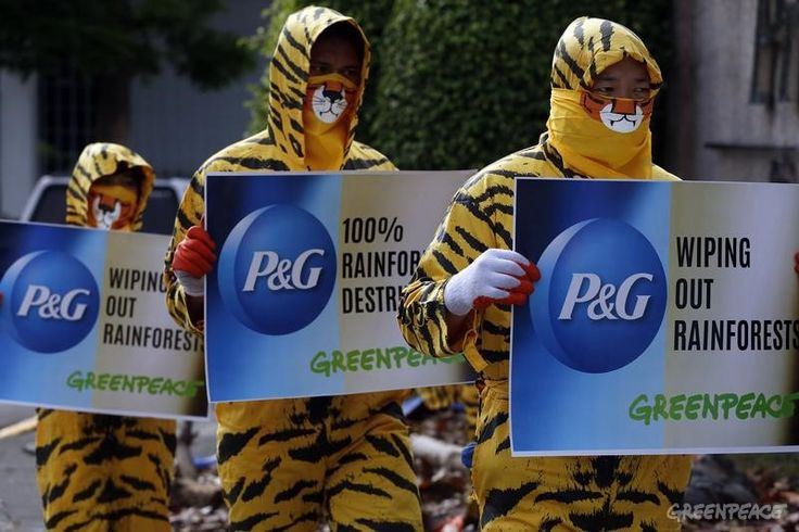 Procter & Gamble Protest in Philippines