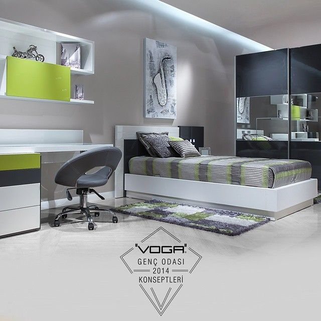 Voga Mobilya Albera Genç Odası |Voga Mobilya Albera Youth Room #gençodası #gencodasi #youthroom