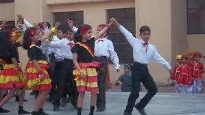Dance program in school.