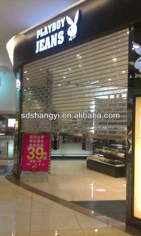 guangdonge best quality commercial polycarbonate transparent roller shutter door $16.5~$32.81