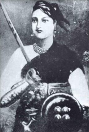 "The Indian beauty, Rani Lakshmibai, was one of the rebellion leaders against the British in 1857. Hugh Rose described her as ""personable, clever and beautiful"" and ""the most dangerous of all Indian leaders"""