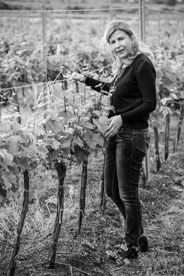 Oenologist Aurelia Visinescu at Domeniile Sahateni winery.  https://www.facebook.com/AureliaVisinescuWines