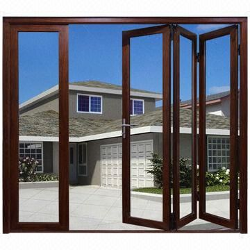 Aluminum Bi Folding Glass Door, Excellent Quality And Performance, Germany  Brand Hardware