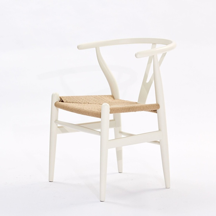 41 best table and chair images on pinterest canapes for Wishbone chair table