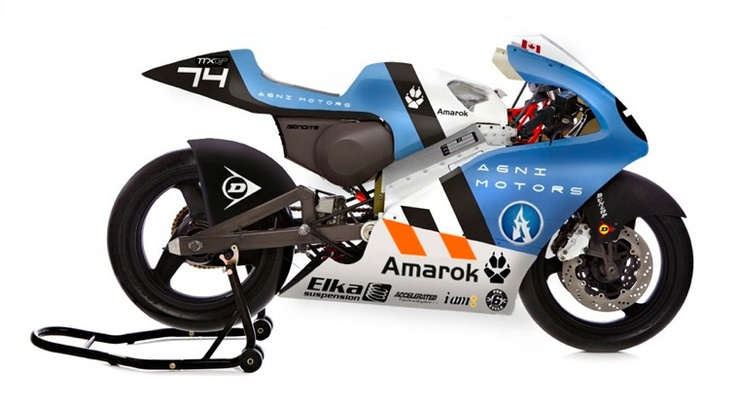 Amarok P1 Electric Motorcycle (2012) by Kevin O'Neil and Michael Uhlarik.