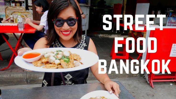 VIDEO! CHINATOWN BANGKOK STREET FOOD TOUR. What you should eat when you're visiting Yaowarat/Chinatown in Bangkok...
