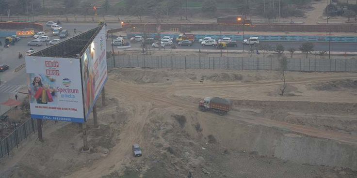 Spectrum Metro Noida Construction Update 2