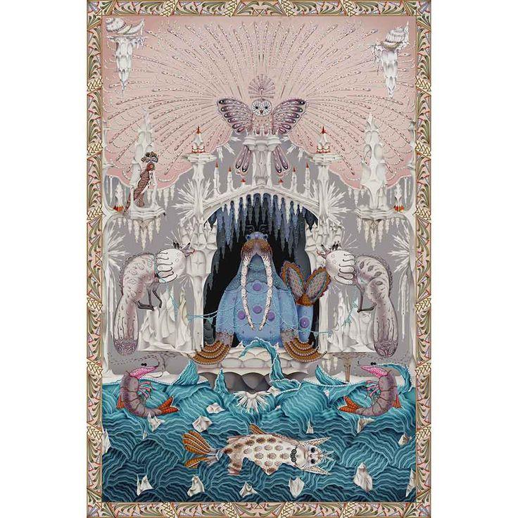 Bild von Teppich POLAR BYZANTINE von Klaus Haapaniemi für Moooi Carpets