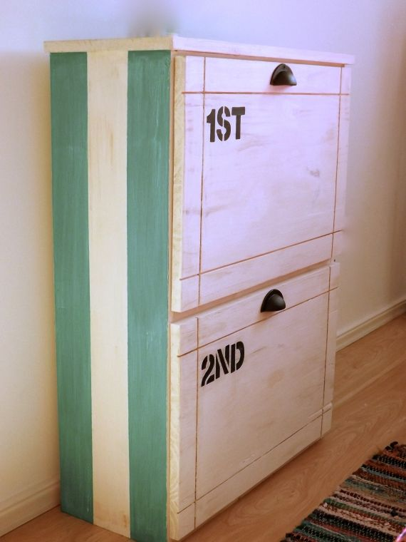 M s de 25 ideas incre bles sobre muebles para guardar for Mueble zapatero artesanal