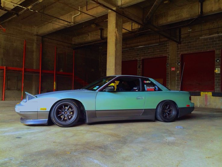 Nissan 180 Front/ S13 Rear. Ombré Effect! NissanJdmCars ...