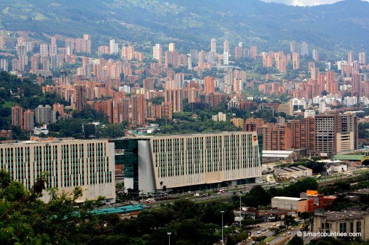 El Poblado District, Medellin, Colombia.