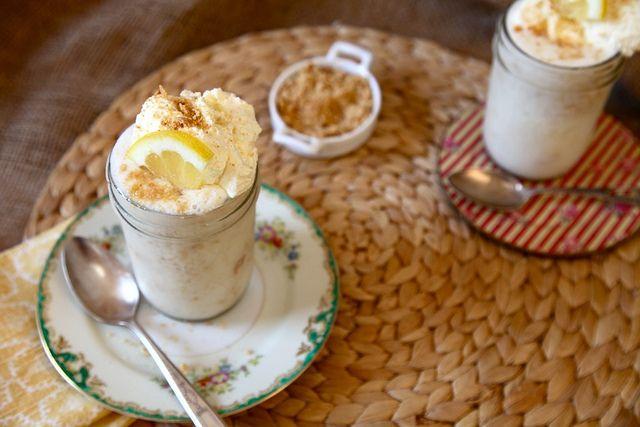 Lemon Meringue Pie Milkshakes