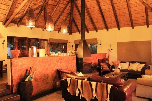 Warm interiors at #ElephantRockLodge at #Nambiti