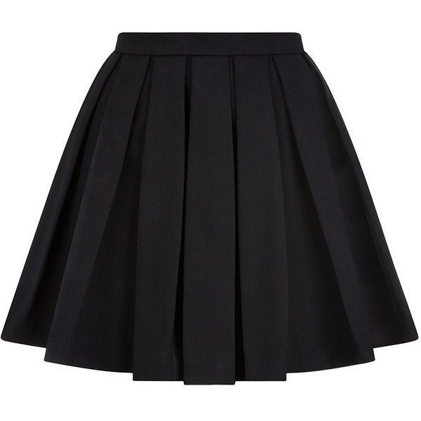 Pleated Skirt Black