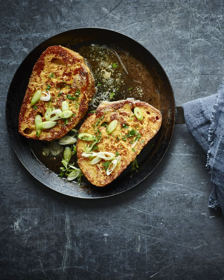 When you want (need) a deeply savoury breakfast or brunch - Nigella's parmesan french toast is sure to revive you!