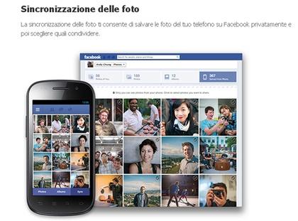 Anche Facebook introduce la sincronizzazione delle foto #facebooktips