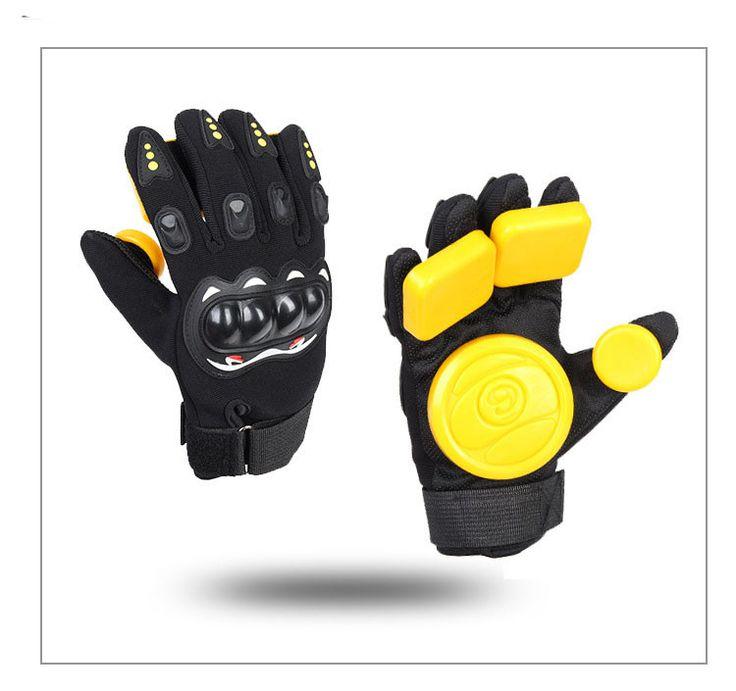 Roller Safety Gear Glove Skateboard Slide Gloves With Slider Brake gloves size L/XL