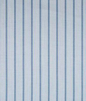 Robert Allen Aloha Stripe Indigo Fabric