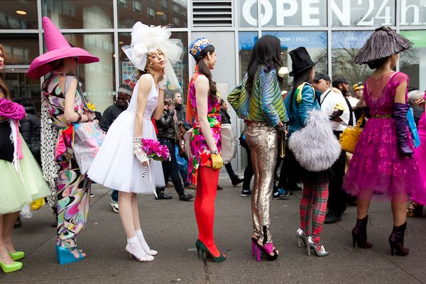 Patricia Field's Pop Up Fashion Show for ... Kotex