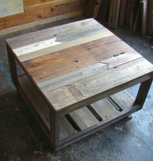 21 best table tops images on pinterest reclaimed wood for Table cuisine palette
