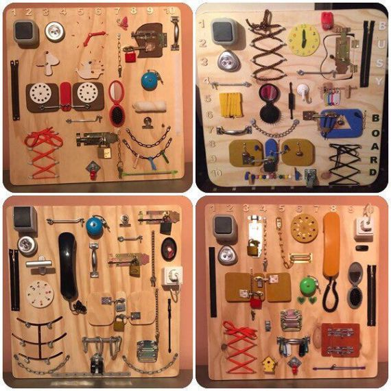 Sensory Board, busy Board, Montessori educational toy, activity Board, CUBUS The busy Board is both a great developmental tool and in engaging fun toy for children ages 6 months to 3 years. Watch your little one play for hours while learning about the world around them. The product is ready for sale, so you can order your own design. Write US to discuss: mediana321@gmail.com We make to order according to your wishes BusyBoards and BusyCubes - you can control the color, size and shape, and…