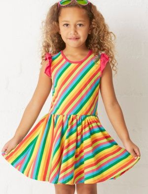 Buy Hootkid Over The Rainbow Dress Candy