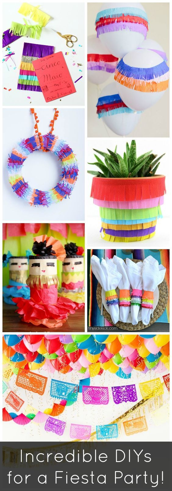 Everything you need to throw an amazing fiesta party! And these are all super simple too