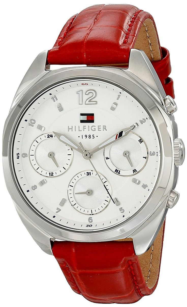 Tommy Hilfiger Women's 1781483 Analog Display Quartz Red Watch *** Check out the watch by visiting the link.