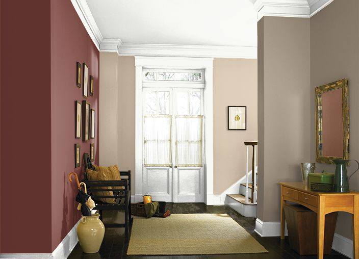 This is the project I created on Behr.com. I used these