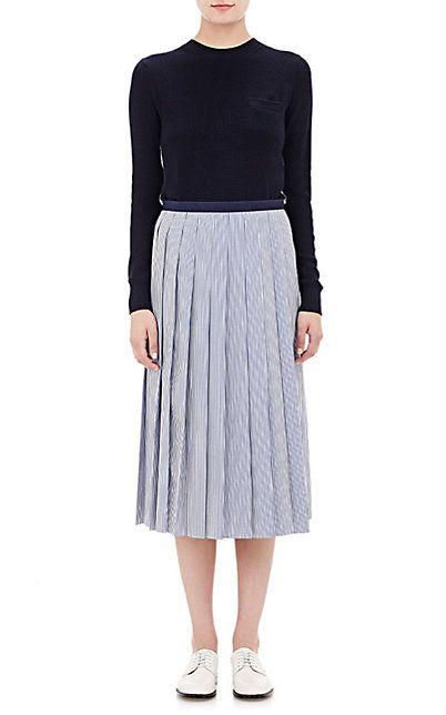 Sacai Luck Layered-Look Dress - Mid - Barneys.com