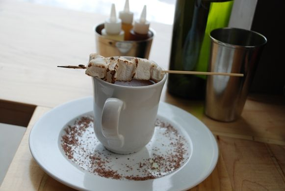 Do like real hot chocolate? Rich and thick like a really good melted chocolate bar and with a bit of spice? Then you have to visit Uptown Waterloo's Taco Farm Co. for their hot chocolate and — real — marshmallows with drinking chocolate made by Ambrosia Pastry Co.(Photo: Rare Republic).