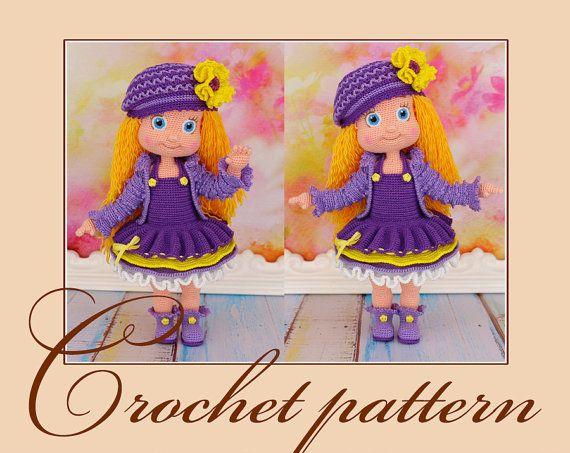 903 best images about Amigurumi Dolls on Pinterest Girl ...