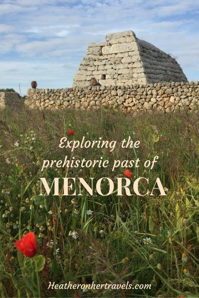 Read about Menorca's prehistoric past