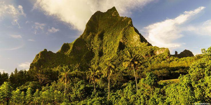 Mount Roto Nui, Moorea – French Polynesia