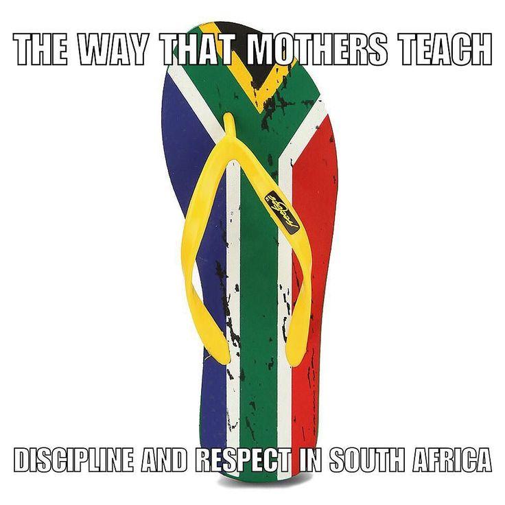 The good old plakkie pakslae! #jymoetluisterasekpraat #respect #discipline #shit_sa_say