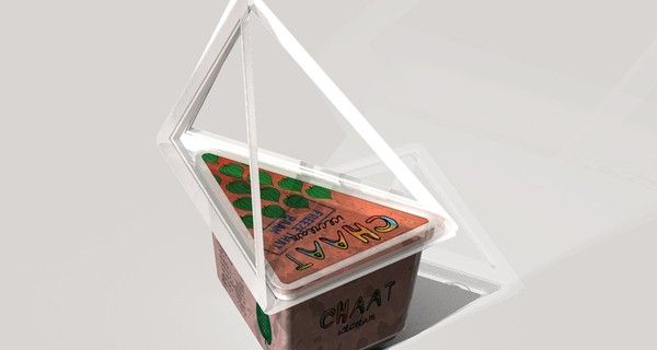 Structural Ice-Cream Packaging